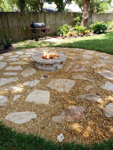Outdoor Fireplace Installation in Tampa, FL (1)
